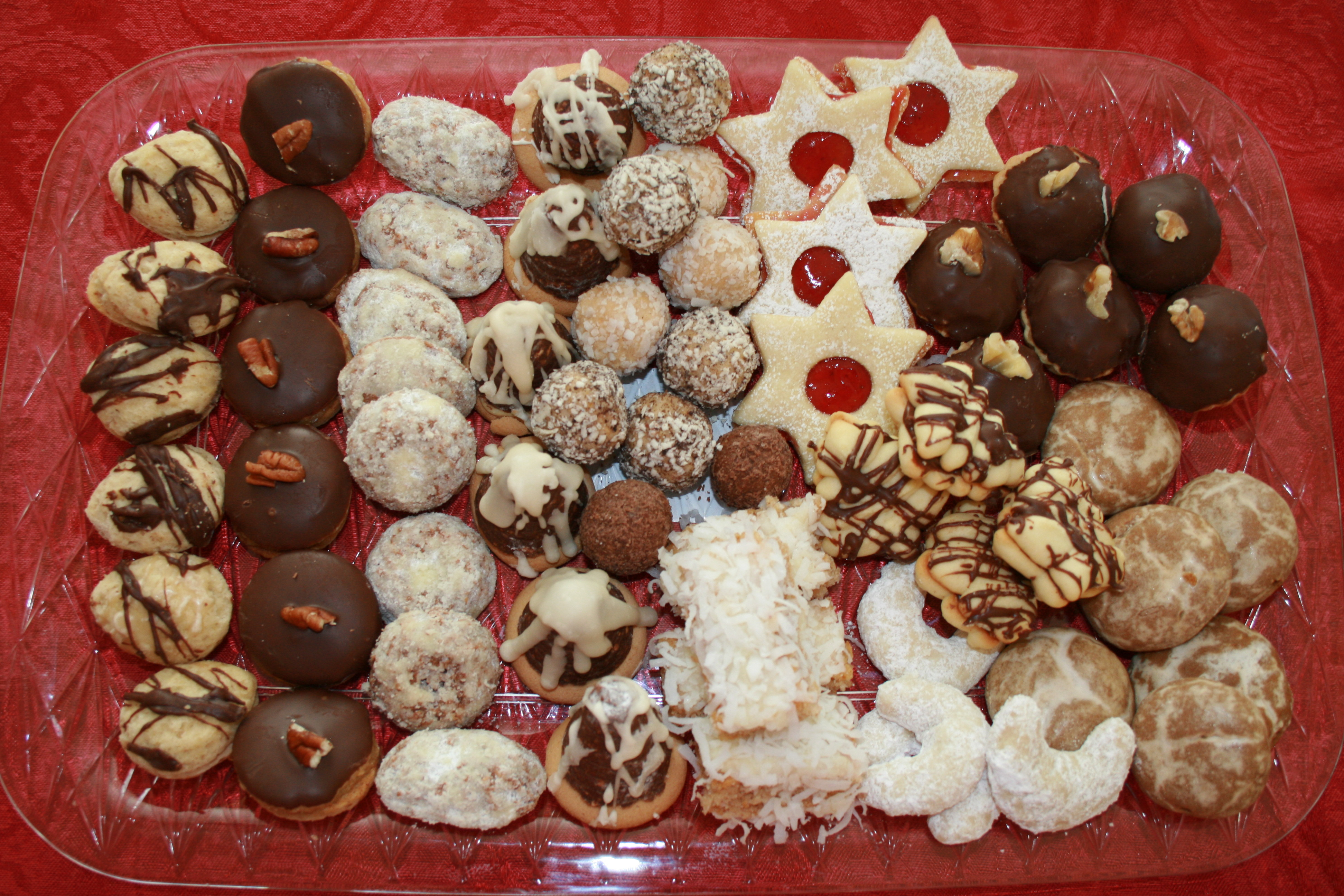 Little bit of czech republic recipes for favorite czech food christmas cookies forumfinder Images